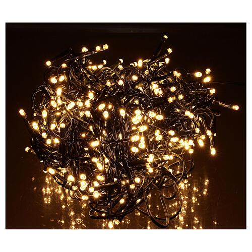 Chain lights 500 LEDs bright warm white 1