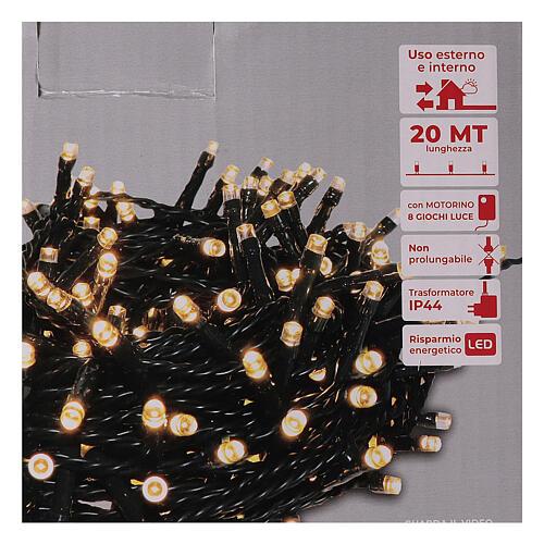 Chain lights 500 LEDs bright warm white 4