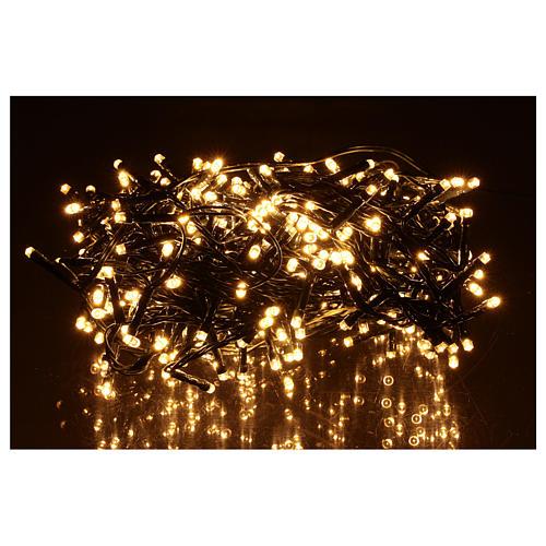 Grinalda 360 LED branco quente 2