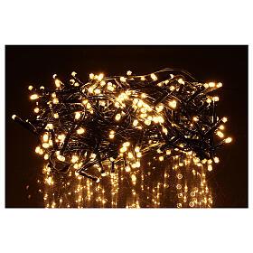 Christmas lights 360 LEDs bright warm white s1