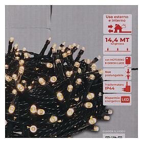 Christmas lights 360 LEDs bright warm white s4