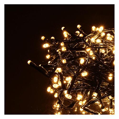 Christmas lights 360 LEDs bright warm white 2