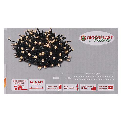 Christmas lights 360 LEDs bright warm white 5