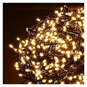 Guirlande 1500 LED blanc chaud extérieur 220V s3