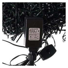 Cadena luminosa 1800 led blanco frío con juegos de luz exterior 220V s5