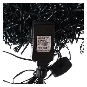 Guirlande 1800 LED blanc froid avec jeux de lumières extérieur 220V s5