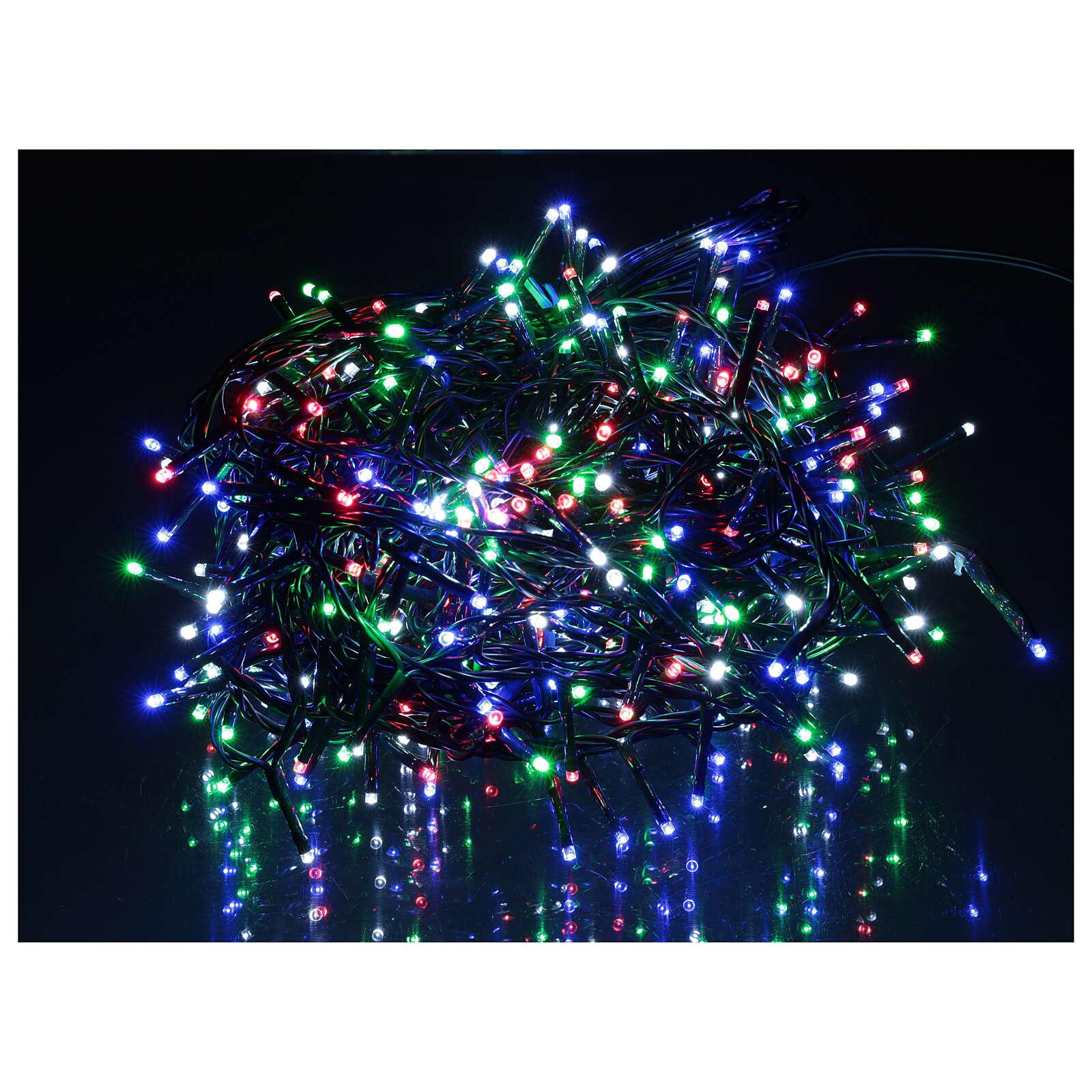 Cadena luminosa 500 led multicolor con control remoto 3