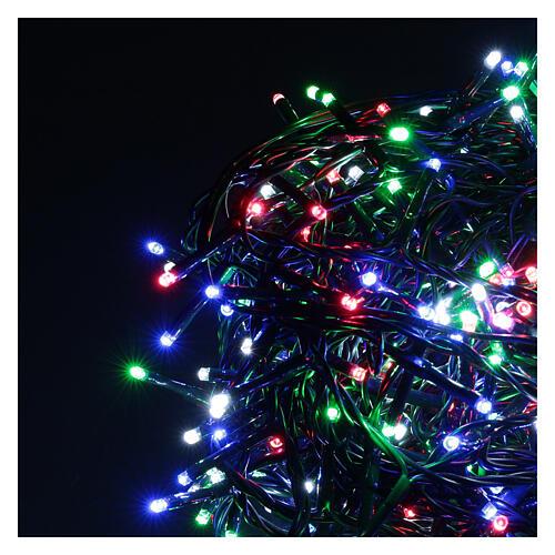 Chaîne 500 LED multicolores avec télécommande 3