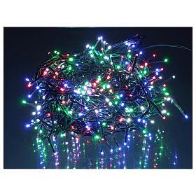 Catena luminosa 500 led multicolor con telecomando remoto esterno 220V s1
