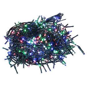 Catena luminosa 500 led multicolor con telecomando remoto esterno 220V s3