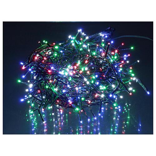 Catena luminosa 500 led multicolor con telecomando remoto esterno 220V 1