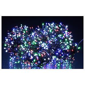 Cadena luminosa 1500 led multicolor juegos luz programable corriente 220V s1