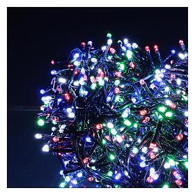 Cadena luminosa 1500 led multicolor juegos luz programable corriente 220V s2