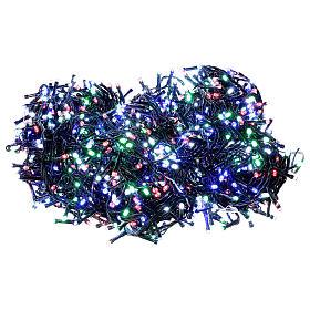 Guirlande de Noël 1500 LED multicolores jeux de lumières programmables courant 220V s1