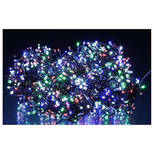 Chain lights 1500 LEDs multi color programmable light show 220V 1