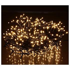 Guirlande de Noël 500 LED blanc chaud extérieur 220V s2