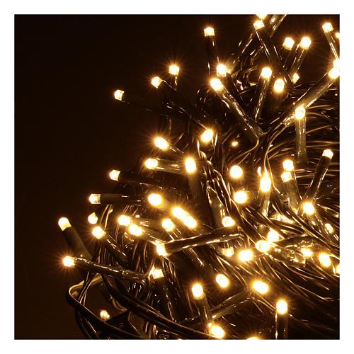 Guirlande de Noël 500 LED blanc chaud extérieur 220V 3