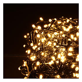 Catena luminosa 800 led bianco caldo s3