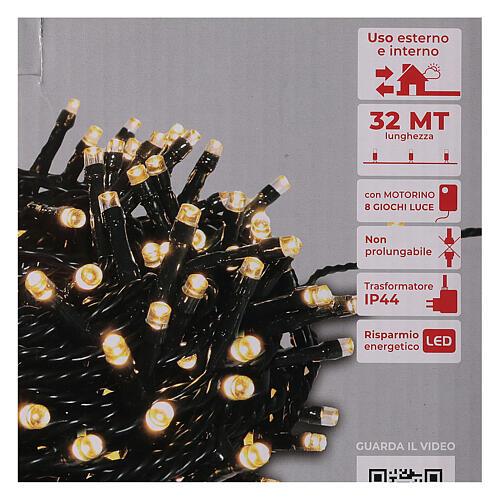 LED Christmas lights 800 warm white 4
