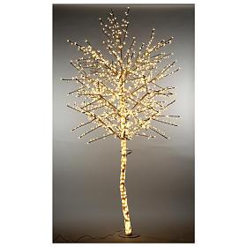 Árbol cerezo luminoso 300 cm blanco cálido corriente s3