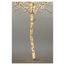 Árbol cerezo luminoso 300 cm blanco cálido corriente s5