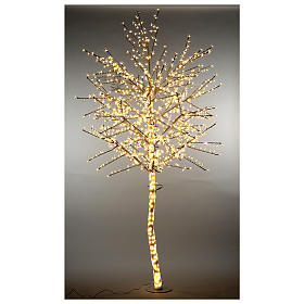 LED Cherry blossom tree 300 cm warm white electric powered s3