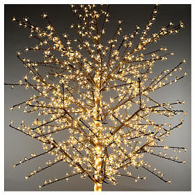 LED Cherry blossom tree 300 cm warm white electric powered s2