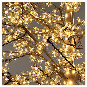 LED Cherry blossom tree 300 cm warm white electric powered s4