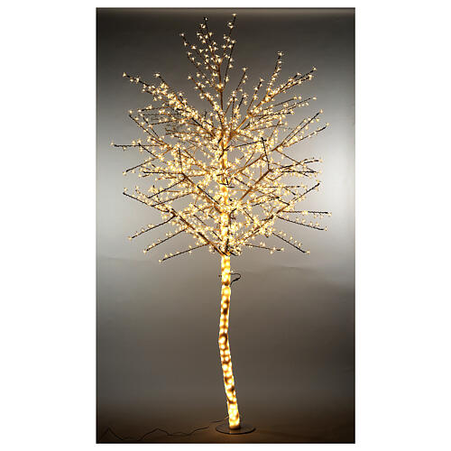 LED Cherry blossom tree 300 cm warm white electric powered 1