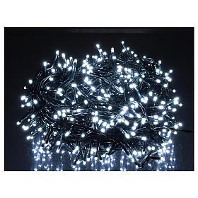 Cadena luminosa Navidad 500 led blanco frío con control remoto s2