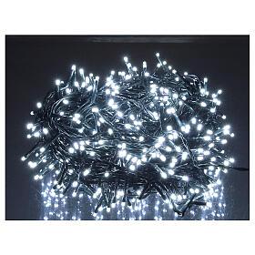Cadena luminosa Navidad 500 led blanco frío con control remoto s1