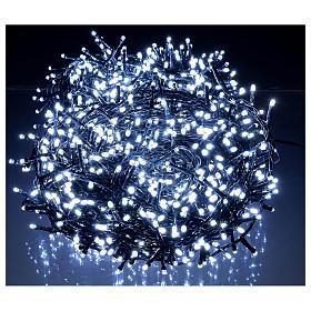 Cadena luminosa navideña 1500 led blanco frío exterior 220V s2