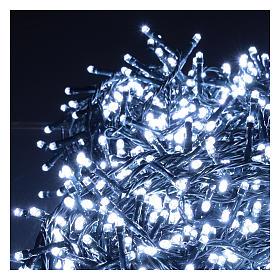 Cadena luminosa navideña 1500 led blanco frío exterior 220V s3