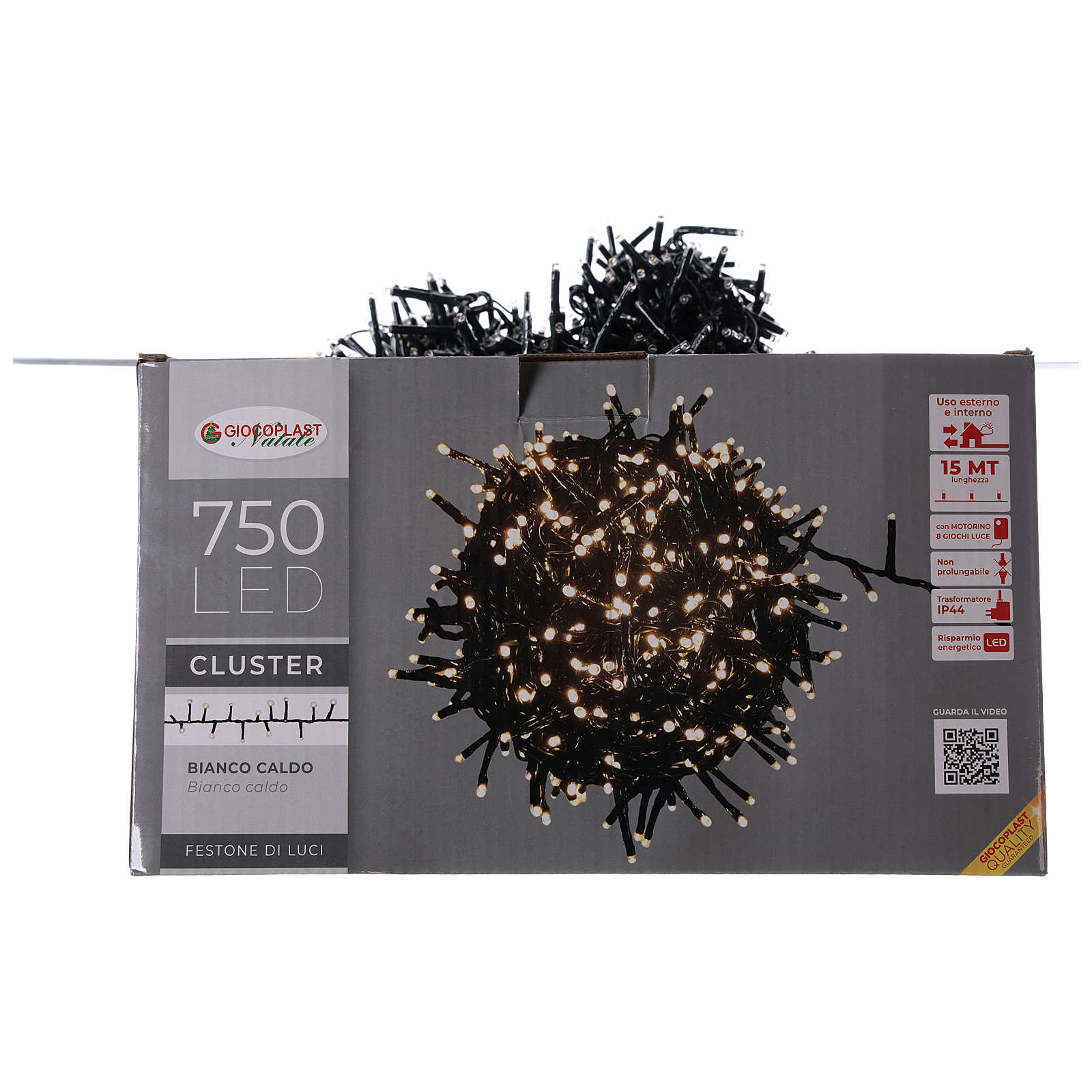 Holiday lights 750 LEDs warm white for external 3
