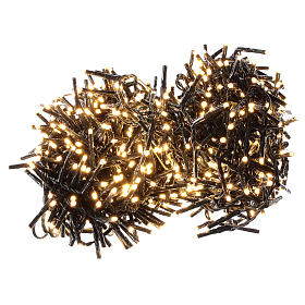 Holiday lights 750 LEDs warm white for external s1