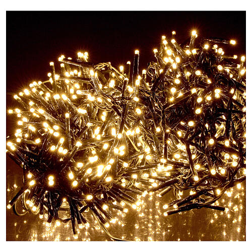 Holiday lights 750 LEDs warm white for external 1