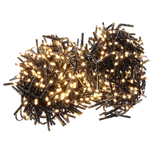 Holiday lights 750 LEDs warm white for external 2