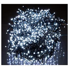 Guirlande lumineuse de Noël verte 1200 LED blanc froid pour  extérieur 24 m 220V s2
