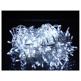 Guirlande lumineuse de Noël verte 1200 LED blanc froid pour  extérieur 24 m 220V s9