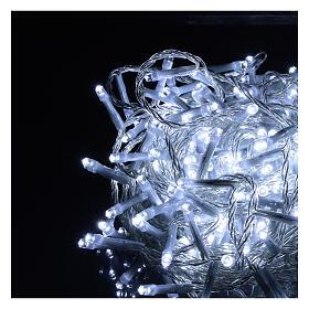 Guirlande lumineuse de Noël verte 1200 LED blanc froid pour  extérieur 24 m 220V s10