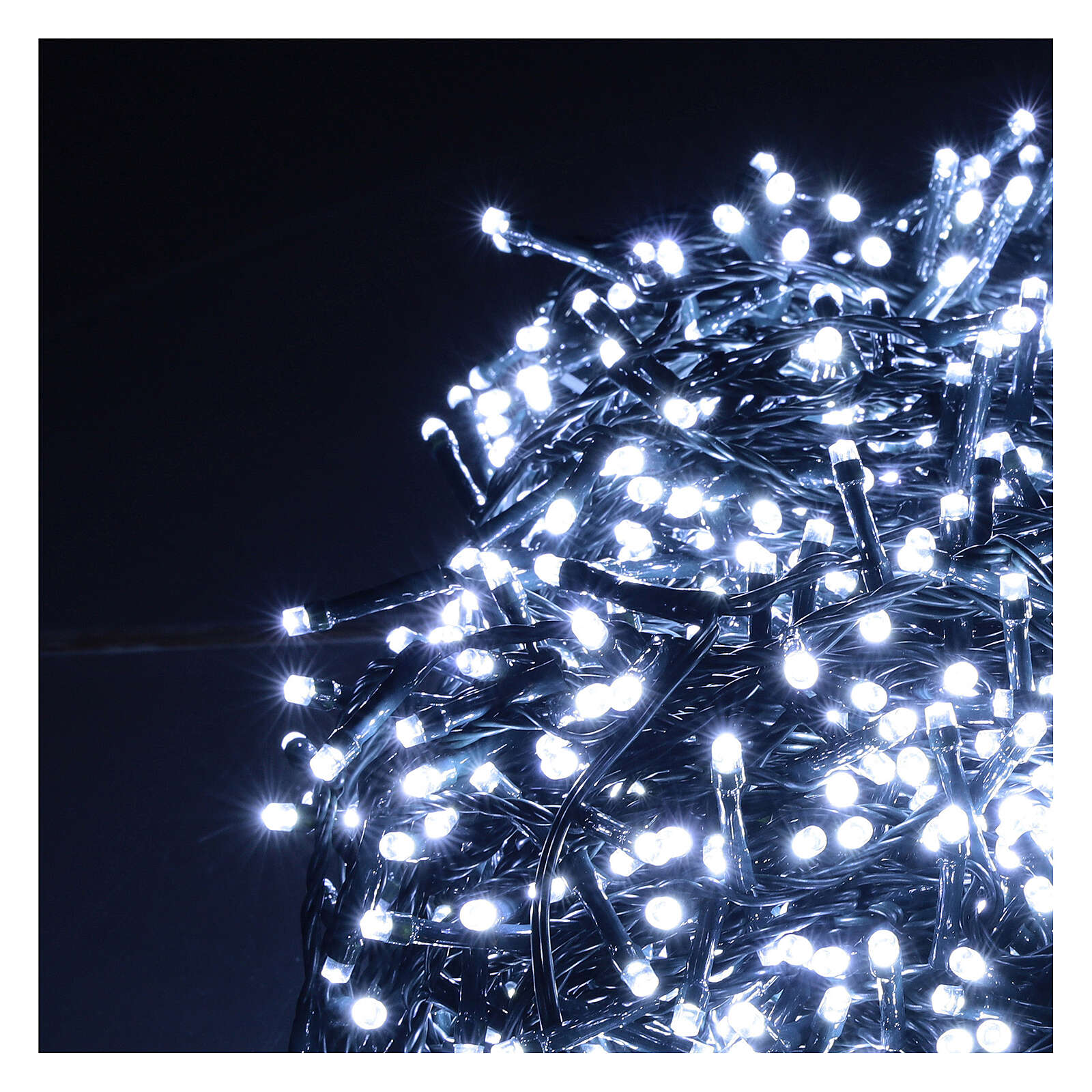 Led Christmas Lights 1200 Cold White 220v External 48 M Online Sales On Holyart Com