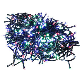 Guirlande lumineuse de Noël 360 LED multicolores pour extérieur avec boîtier s1