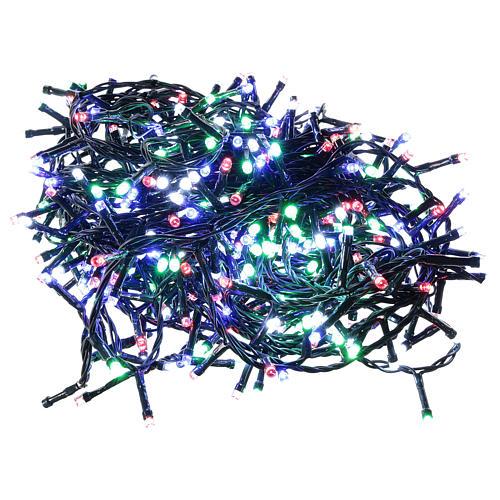 Guirlande lumineuse de Noël 360 LED multicolores pour extérieur avec boîtier 1