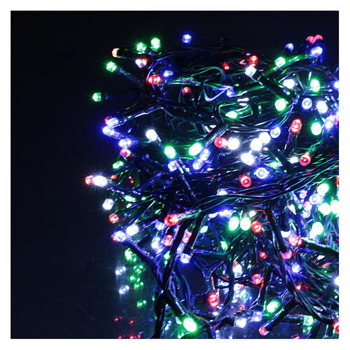 Holiday lights 360 LEDs multi color for external use with remote control 2
