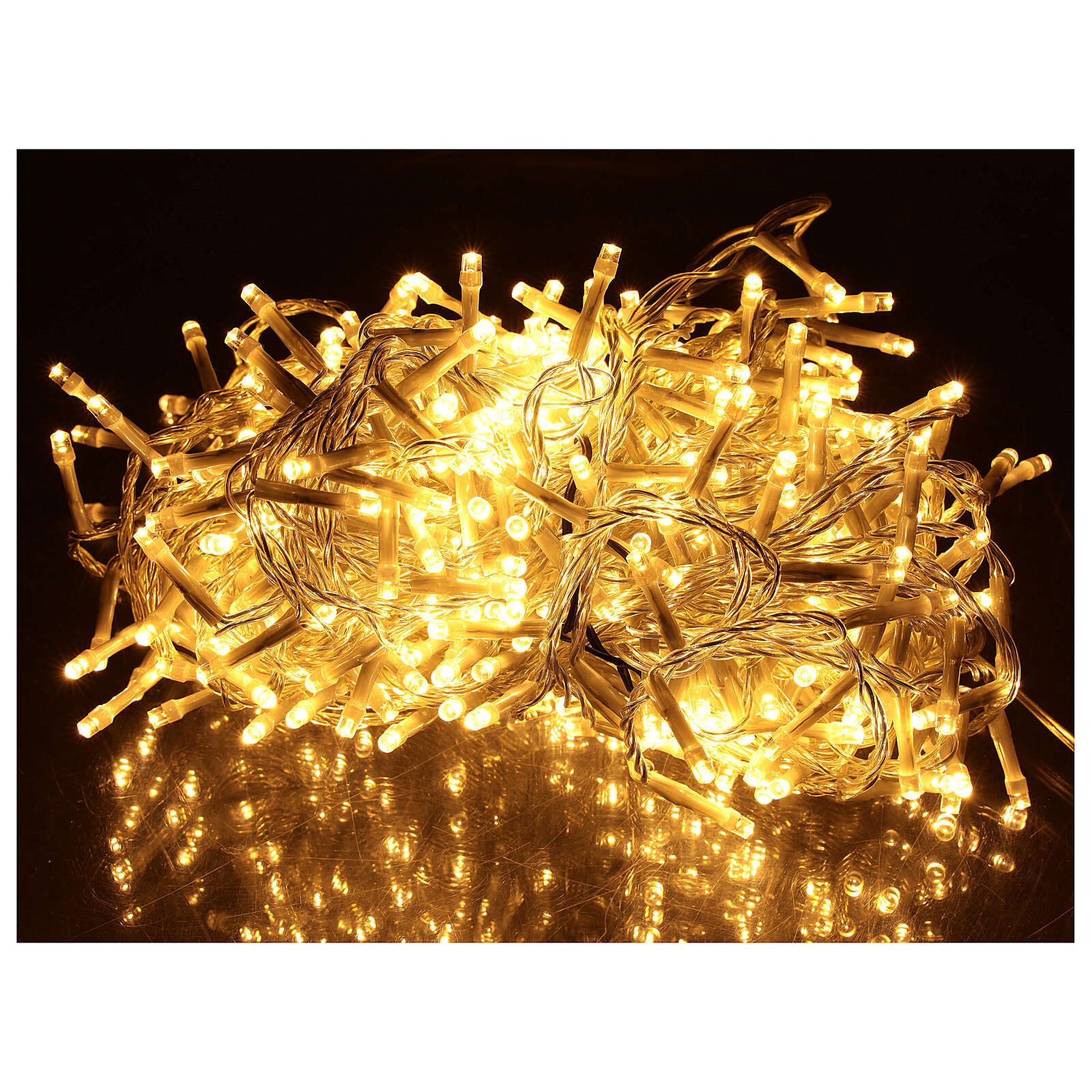Holiday lights 500 LEDs warm white for external 4