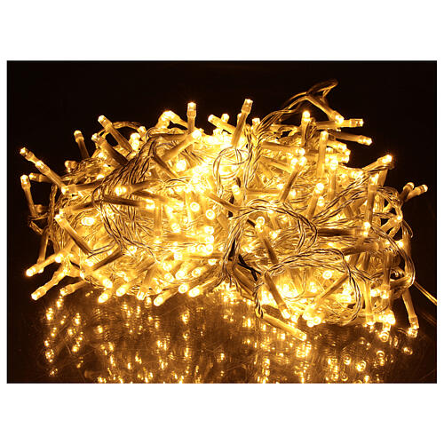 Holiday lights 500 LEDs warm white for external 1