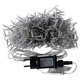 Catena luminosa Natalizia 500 led bianco caldo esterno 220V s4