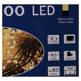 Holiday lights 500 LEDs warm white for external s5