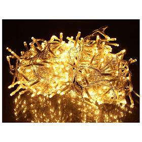 Holiday lights 500 LEDs warm white for external s1
