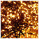 Christams lights, 1800 LED amber warm white remote control for outdoors 220V s4